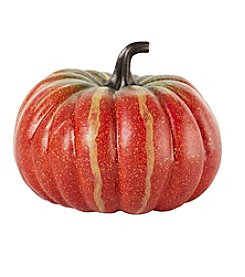 LivingQuarters Decorative Pumpkin