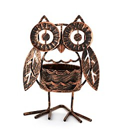 LivingQuarters Owl Tealight Holder