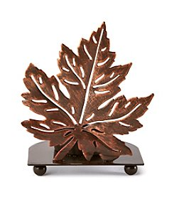 LivingQuarters Leaf Tealight Holder