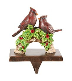 LivingQuarters Cardinal Stocking Holder