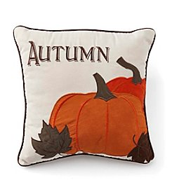 LivingQuarters Pumpkin Pillow