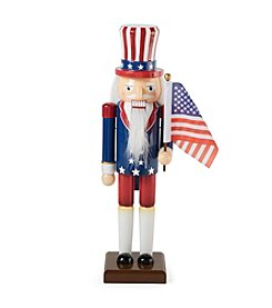 LivingQuarters Uncle Sam Nutcracker