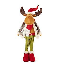 LivingQuarters Reindeer Boy Plush