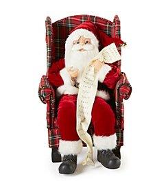 LivingQuarters Sitting Santa