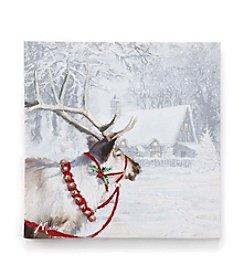 LivingQuarters Reindeer Wall Art