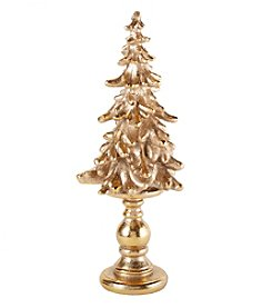 LivingQuarters Rubies and Gold Collection Tree Stand