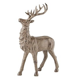 LivingQuarters Rustic Lodge Collection Standing Deer