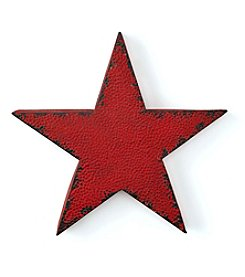 LivingQuarters Rustic Lodge Collection Large Metal Star