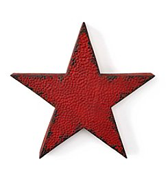 LivingQuarters Rustic Lodge Collection Small Metal Star