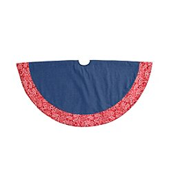 LivingQuarters Western Collection Tree Skirt