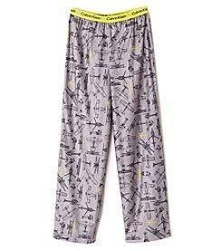 Calvin Klein Boys' 5-16 Airplanes Pajama Pants