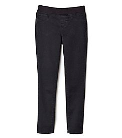 Jessica Simpson Girls' 7-16 Ribbed Pull On Skinny Pants