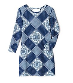 Jessica Simpson Girls' 7-16 Enya Patchwork Dress