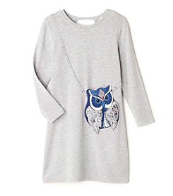 Jessica Simpson Girls' 7-16 Enya Owl Purse Dress