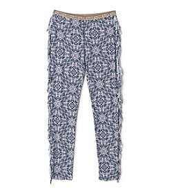 Jessica Simpson Girls' 7-16 Marcella Floral Pants