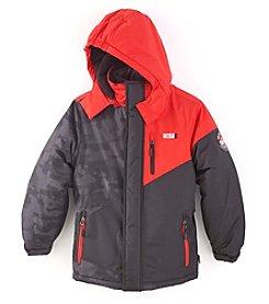 Weatherproof® Boys' 8-20 Printed Systems Jacket