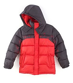 Vertical '9® Boys' Printed Inset Puffer Jacket