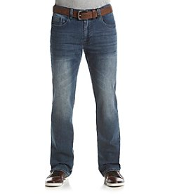 T.K. Axel MFG Co. Jeans Men's Relaxed Straight Belted Exeter Jeans