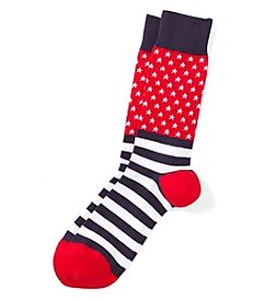 Hot Sox® Men's Flag Dress Socks