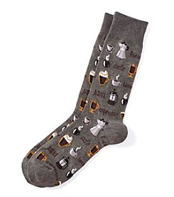 Hot Sox® Men's Coffee Dress Socks