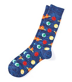 Hot Sox® Men's Planets Dress Socks