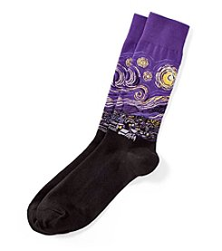 Hot Sox® Men's Starry Night Dress Socks