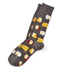 Hot Sox® Men's Cheese Dress Socks