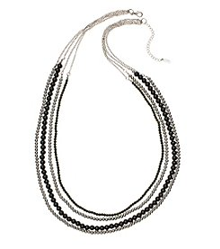 accessory PLAYS™ NCAA® Michigan State Spartans Four-Row Bead Chain Necklace