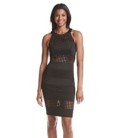 Trixxi® Lazercut Scuba Bodycon Dress