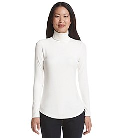Karen Kane® Ribbed Turtleneck Sweater