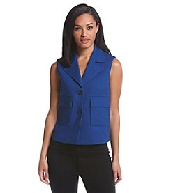 Anne Klein® Two Button Vest