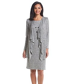 R&M Richards® Cascading Necklace Jacket Dress
