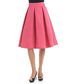 Eliza J® Solid Pleated Skirt