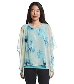 Oneworld® Poncho Top with Tank