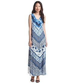 Oneworld® V-Neck Maxi Dress