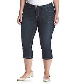 Democracy Plus Size Denim Crop Jeans