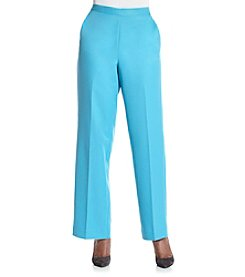 Alfred Dunner® Cozumel Solid Color Pants