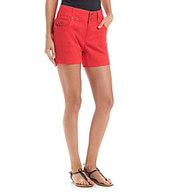 One 5 One Porkchop Pocket Double Button Shorts
