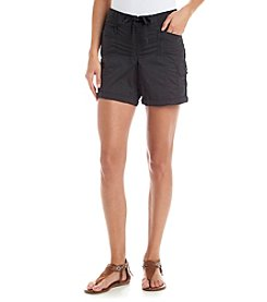 One 5 One Knit Waist Cargo Shorts