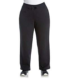 Exertek® Plus Size Solid Tie Front Pants