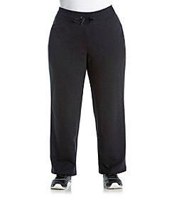 Exertek® Plus Size Solid Tie Front Pants