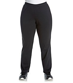 Exertek® Plus Size Solid Five Pocket Ponte Pants