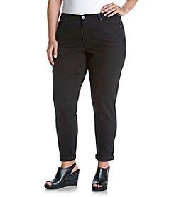 Ruff Hewn Plus Size Skinny Colored Denim Jeans