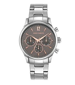 Vince Camuto™ Women's Stainless Steel Multi-Function Bracelet Watch