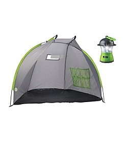 Discovery Kids Kid's Base Camp Shelter Tent With Lantern