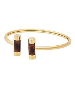 Michael Kors® Goldtone & Tortoise Flex Bracelet