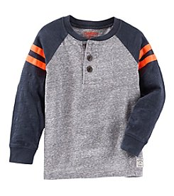 OshKosh B'Gosh® Boys' 2T-7 Long Sleeve Henley