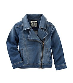 OshKosh B'Gosh® Girls' 2T-6X Denim Moto Jacket