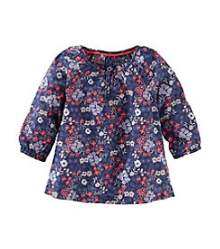 OshKosh B'Gosh® Girls' 2T-6X Long Sleeve Floral Swing Top