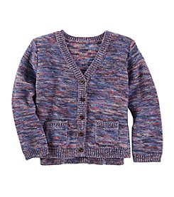 OshKosh B'Gosh® Girls' 2T-6X Long Sleeve Cardigan